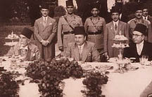Prince M. A. Tewfik with King Farouk